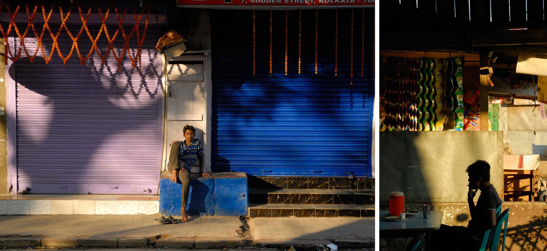 Kolkata (left) and Assam State, India