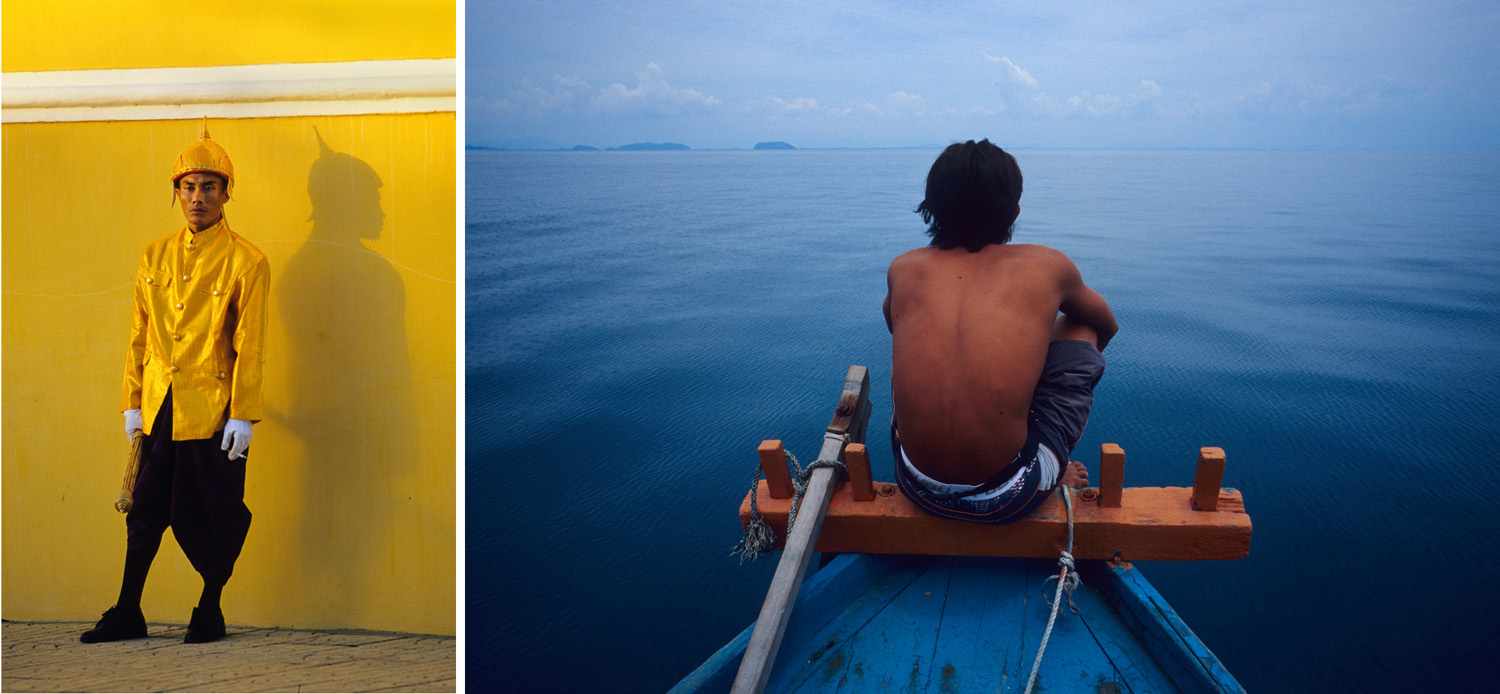 Phnom Penh (left) and The Perhentian Islands, Malaysia.