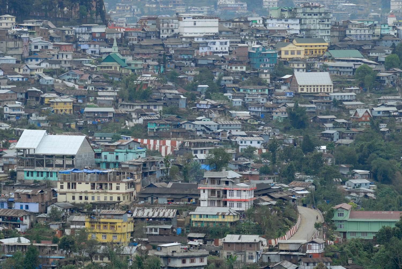 Kohima, Nagaland, India.