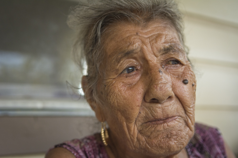 Juliana Martinez spent her life working in the fields.©2018/Jerry Redfern
