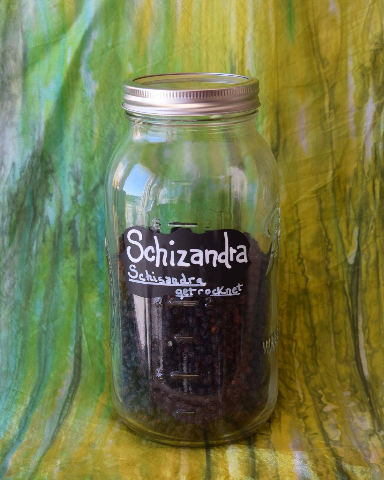 Schizandra berries*