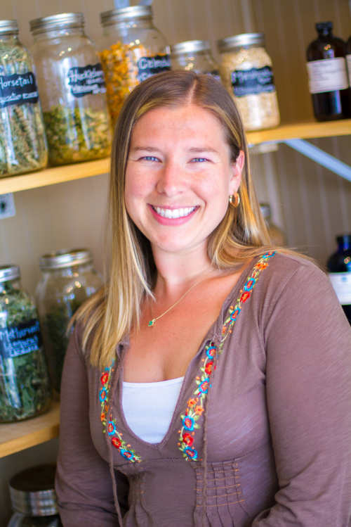 Kelly Ann Nickerson, MS. Herbalist.