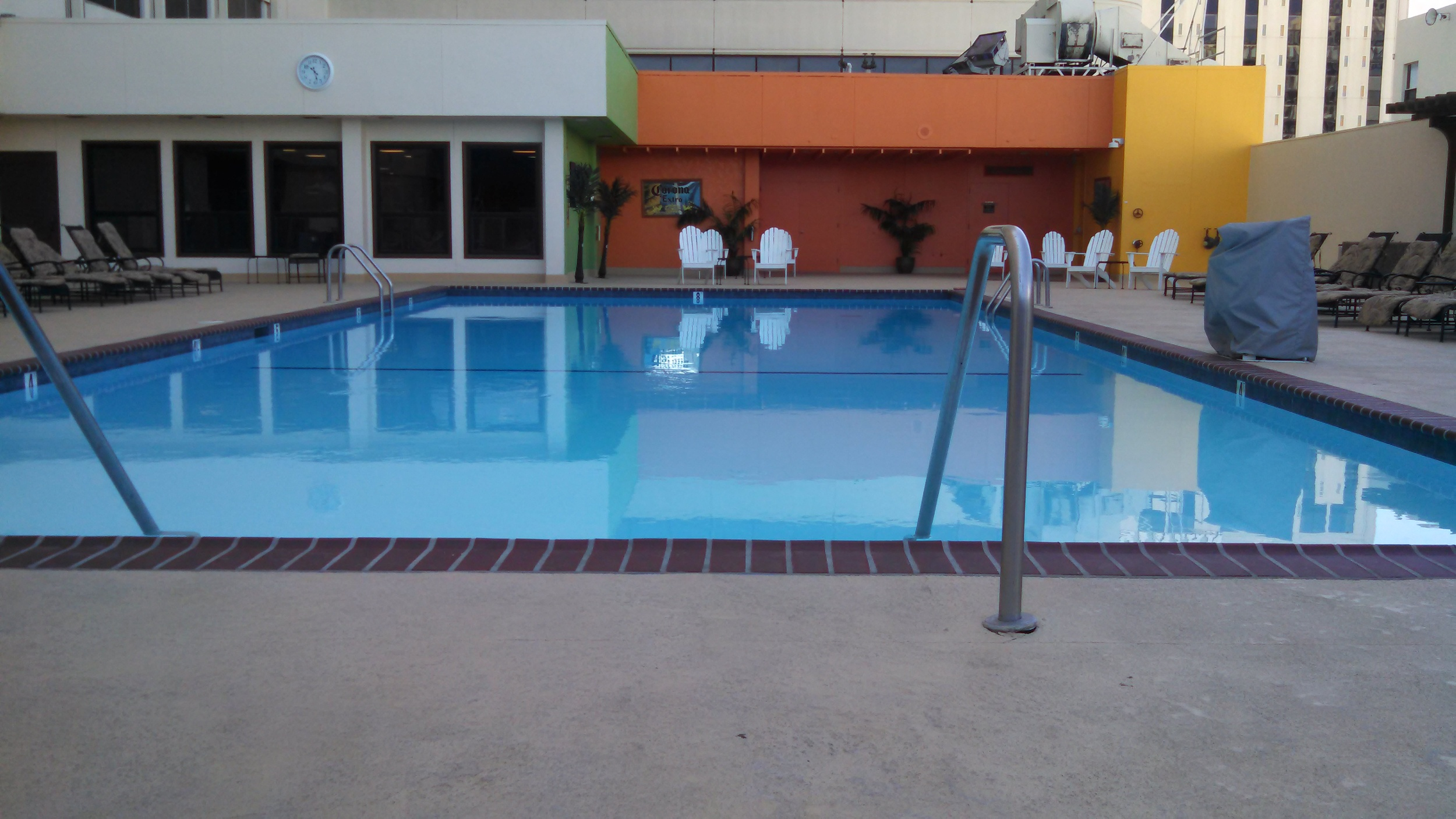 New Pool finish, tile and coping!