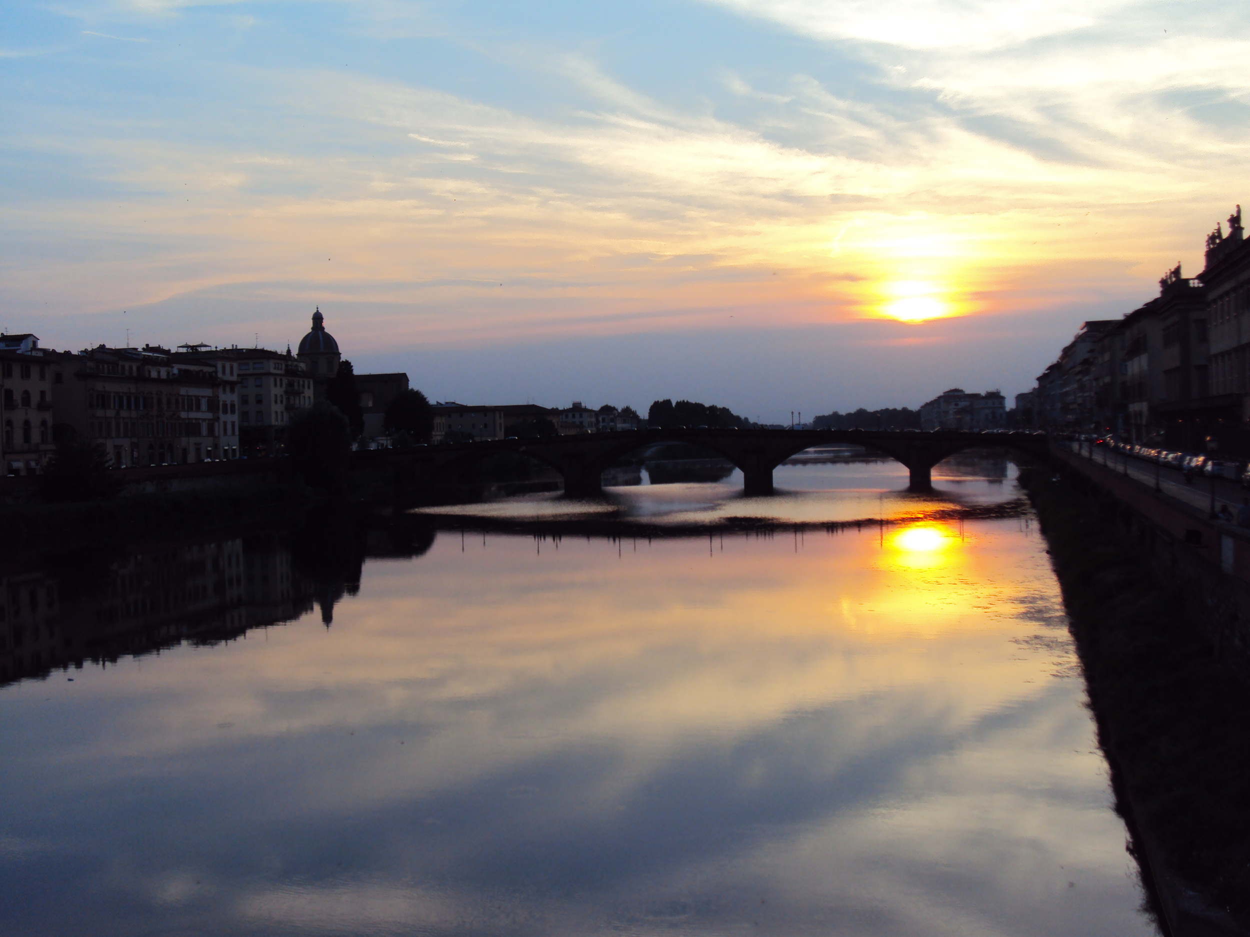 Love those Firenze sunsets