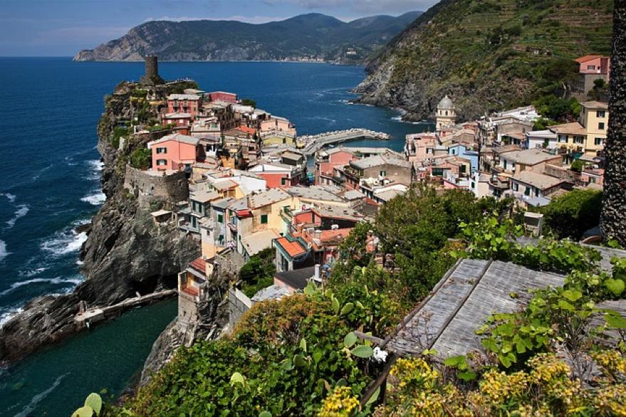 The beautiful Ligurian Coast