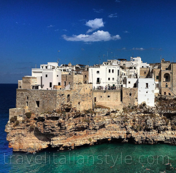 Puglia is another region that has an incredible coast to enjoy