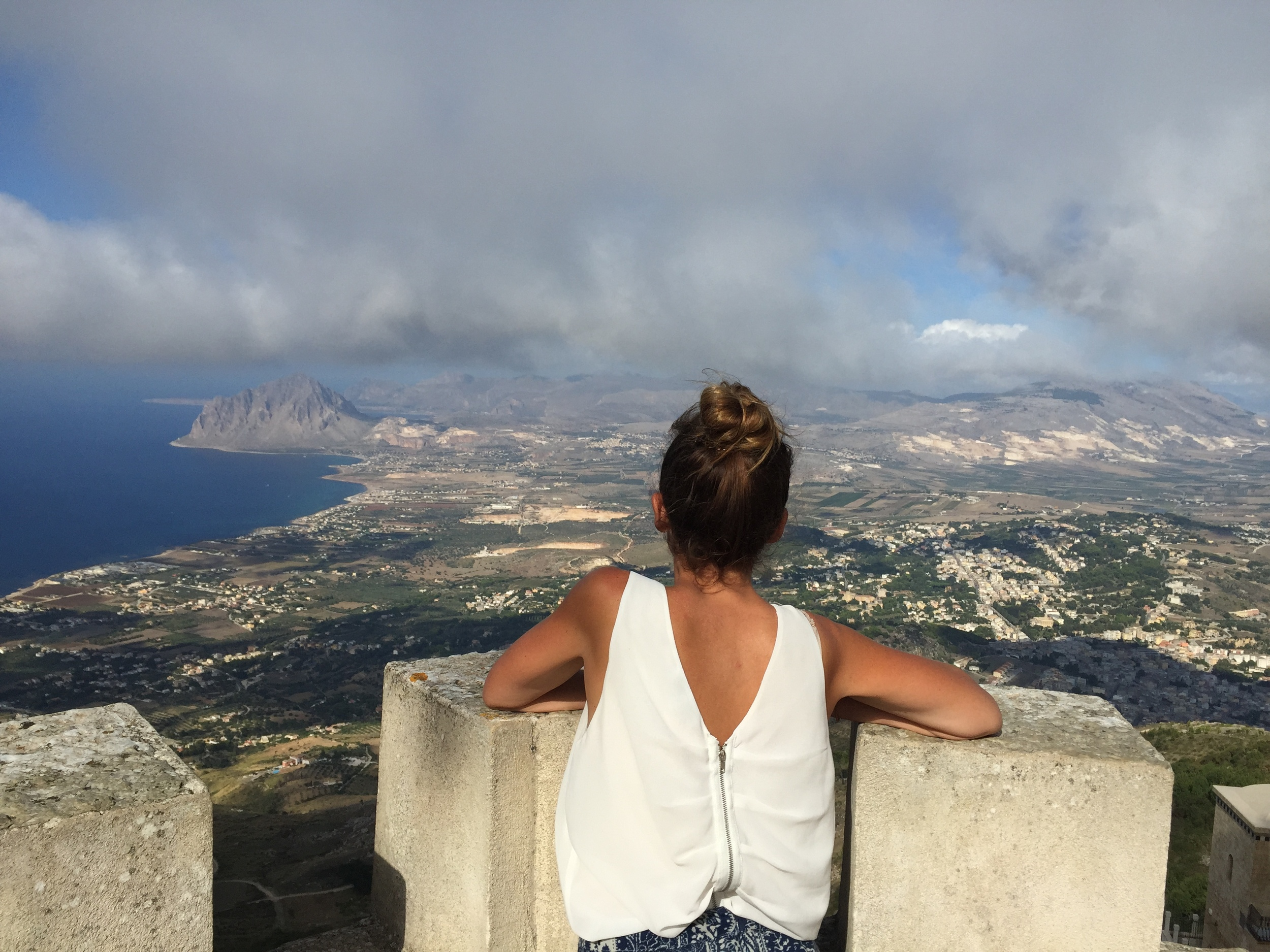 Thousands of people have seen this view in sicily but my eyes capture it differently then everyone else