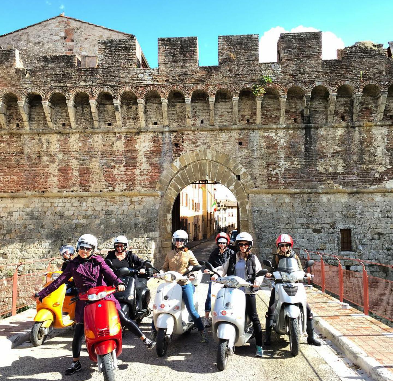 PHOTO COURTESY OF TRAVEL ITALIAN STYLE'S WOMEN'S TUSCANY TOUR