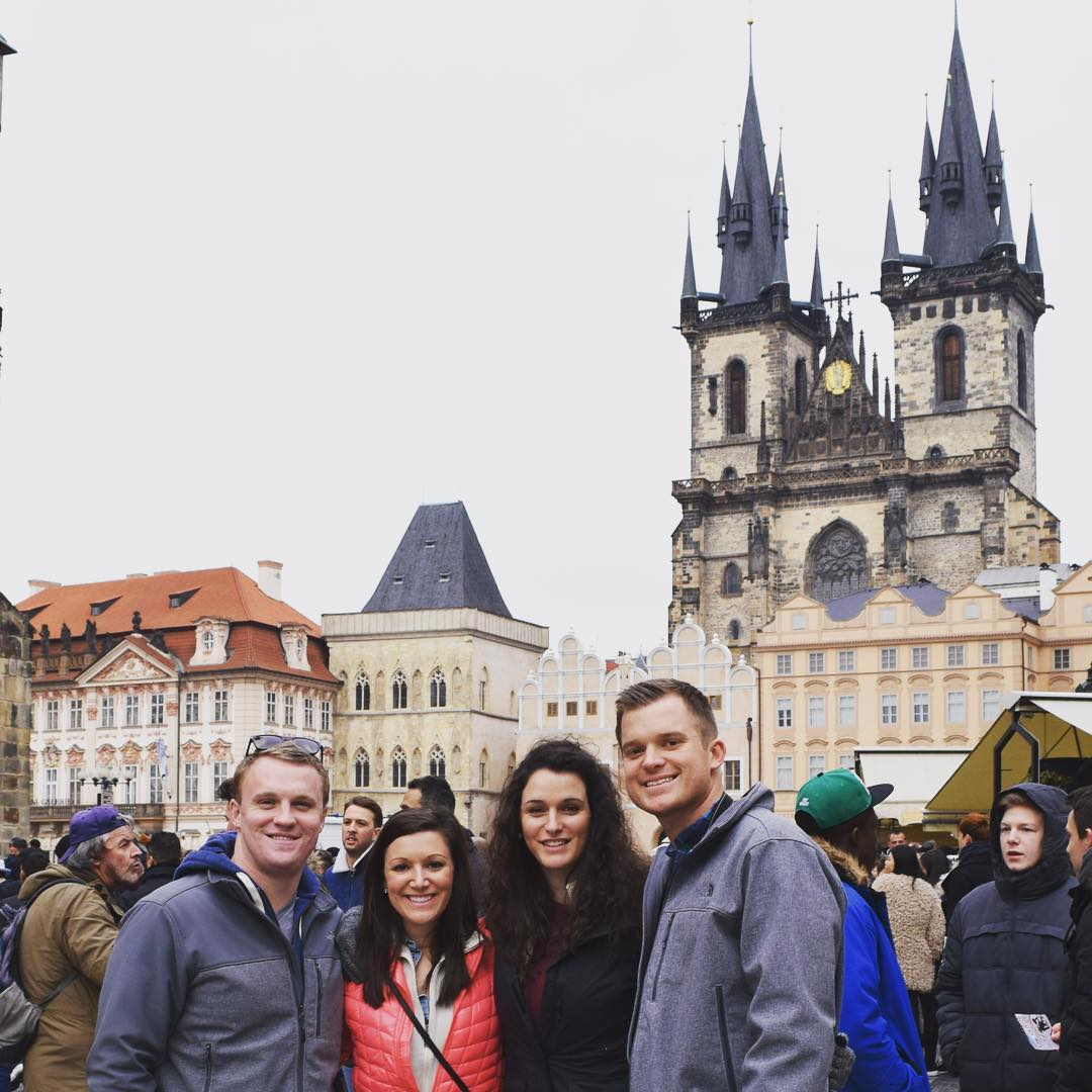 PHOTO COURTESY OF BRYCE CONWAY (PRAGUE)