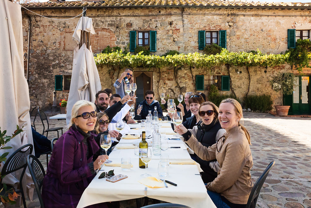 Travel italian style women group tour 2015 | tuscany