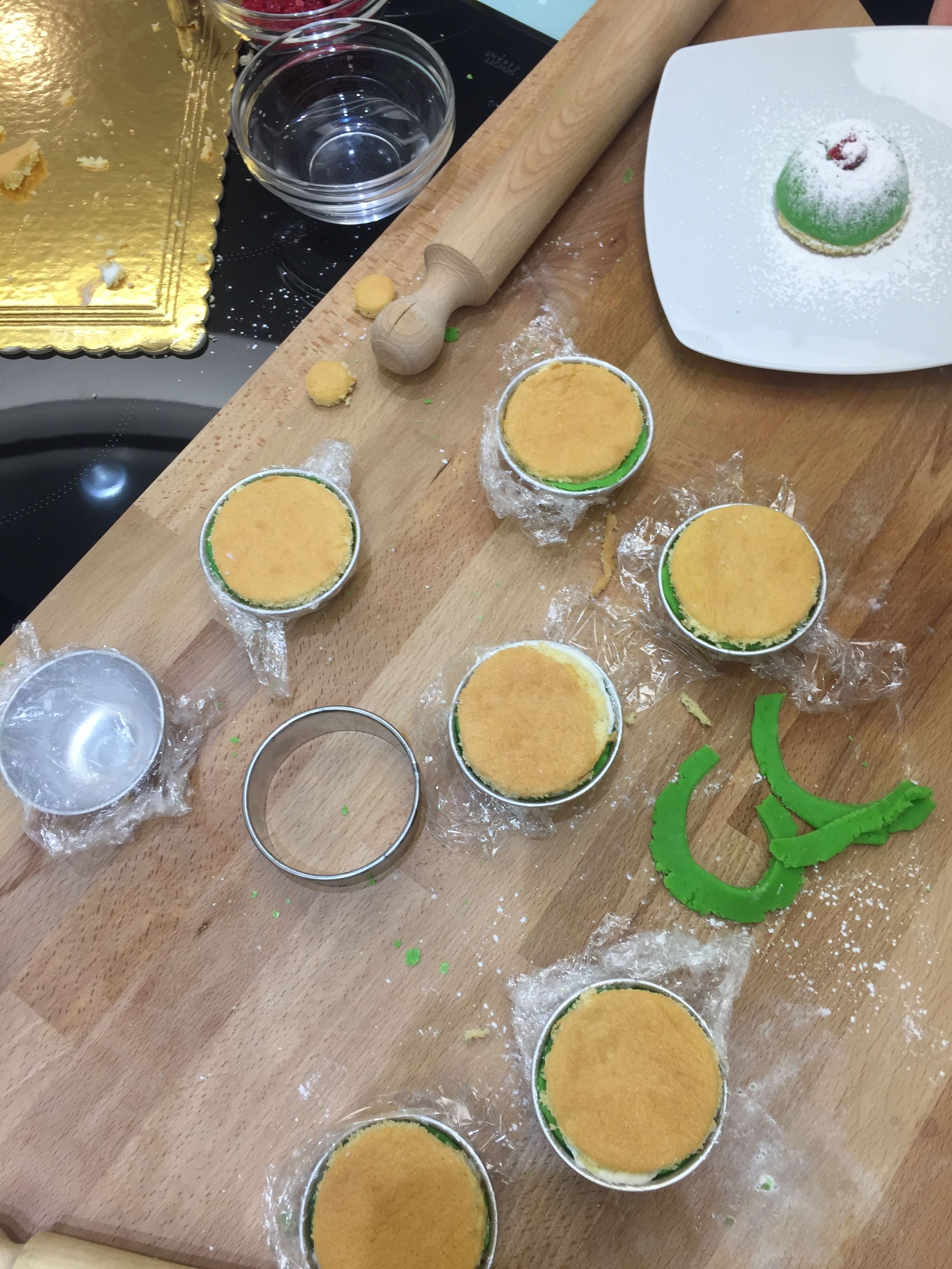 The traditional  Minni di Sant'Agata  desserts or in Sicilian dialect  Minnuzzi ri Sant'Ajita.  We made them ourselves during an in home cooking class with a local chef. PICTURE BY TRAVEL ITALIAN STYLE