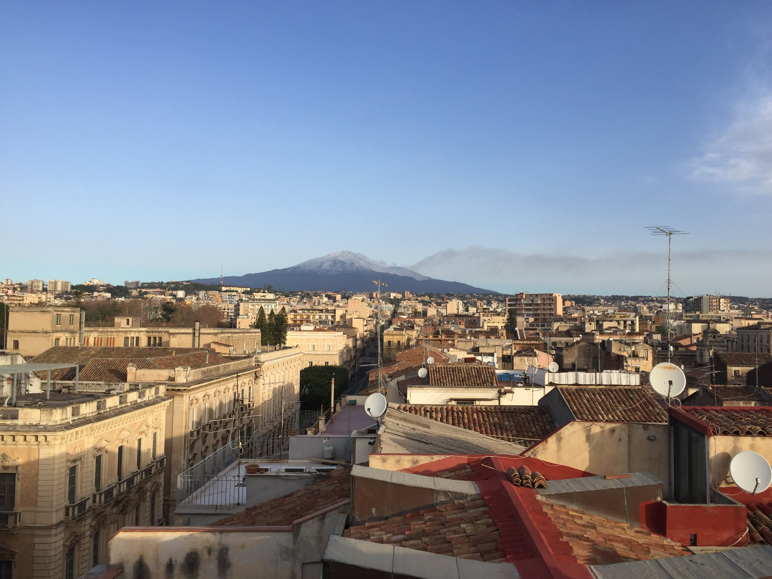 An early morning glimpse of Mt. Etna PICTURE BY TRAVEL ITALIAN STYLE