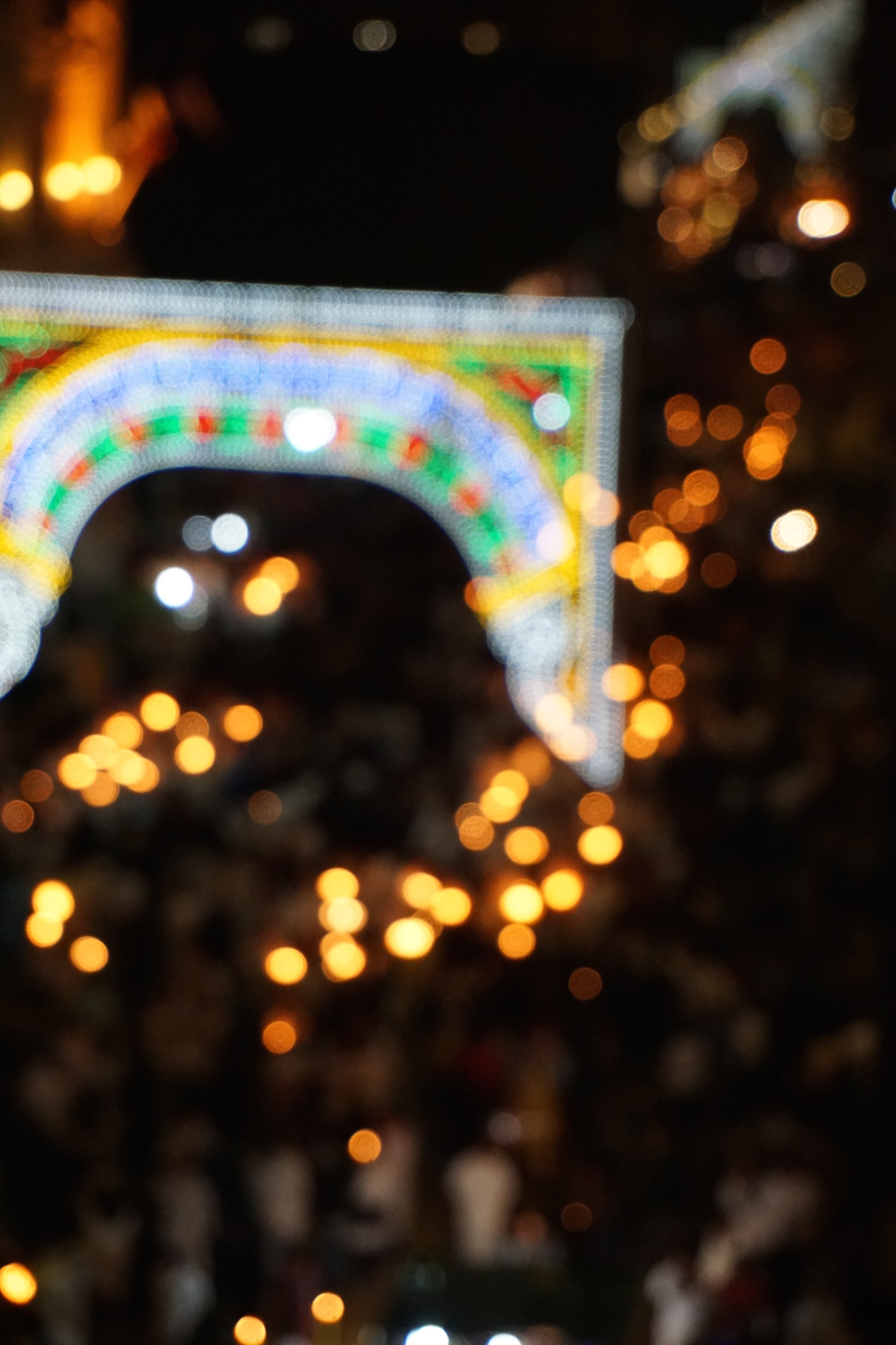 The never ending lights of Via Enta in Catania PICTURE BY TRAVEL ITALIANS STYLE