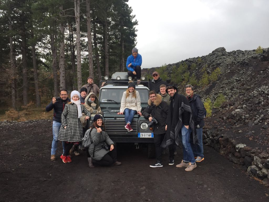 On a 4 X 4 Exploring on Mt. Etna with International Photographers and Instagram Professionals - 2018