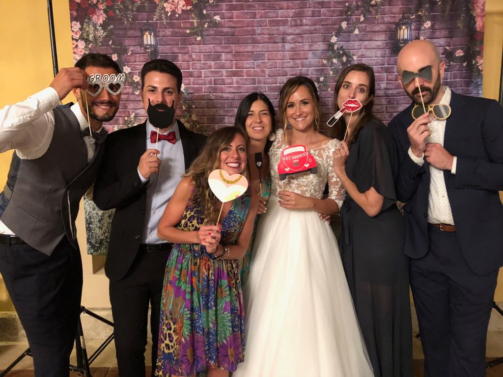 Finding local friends and experiences is closer than you think - Wedding Fun with Italian friends in Arezzo Italy - 2018