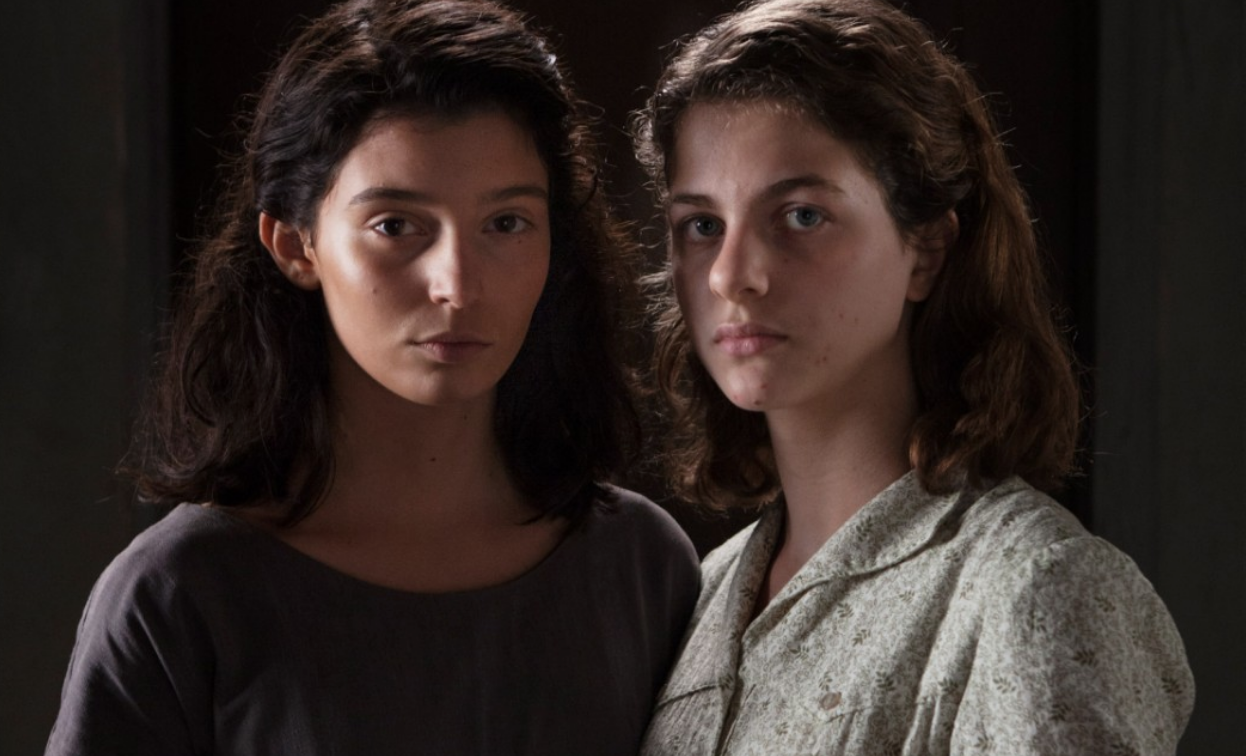 Lila and Elena (Lenu`) in their teen - Pic courtesy of HBO