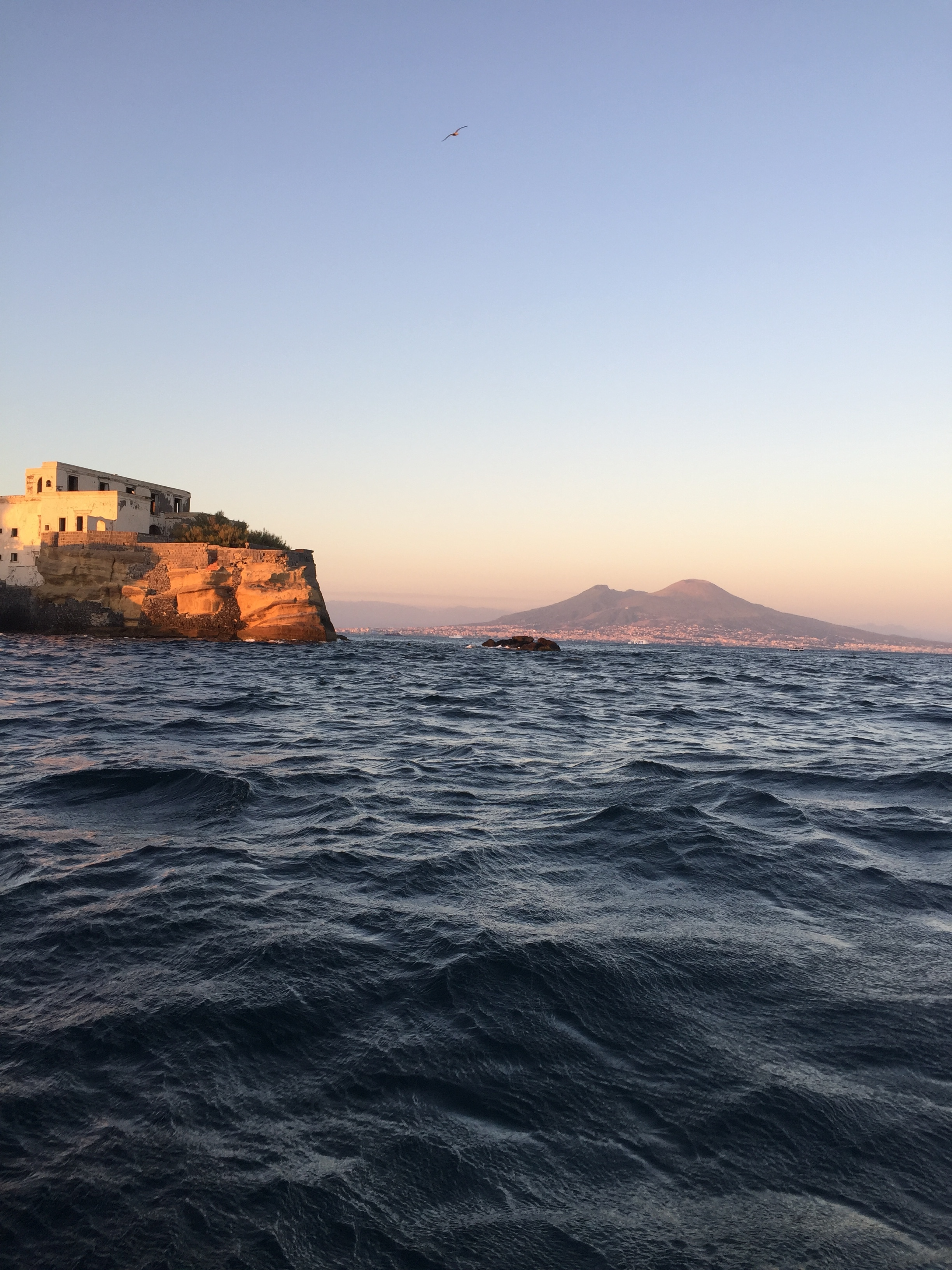 Napoli by sea - Pic courtesy of Travel Italian Style during our Private Naples By Sea Side Tour