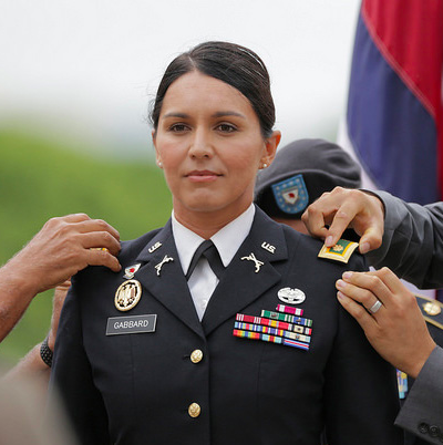 Photo taken from Tulsi Gabbard @ Wikipedia