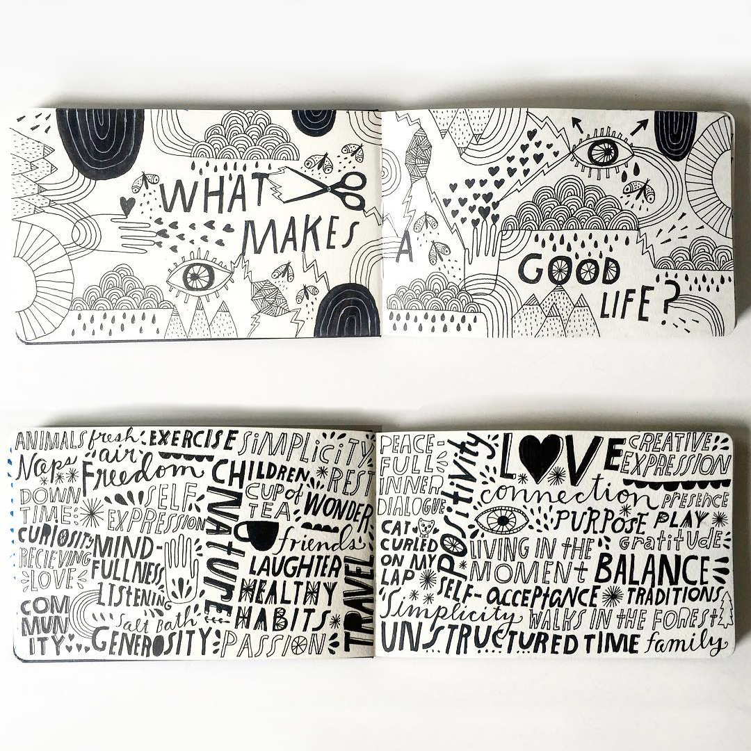 Illustration and image by  Lisa Congdon