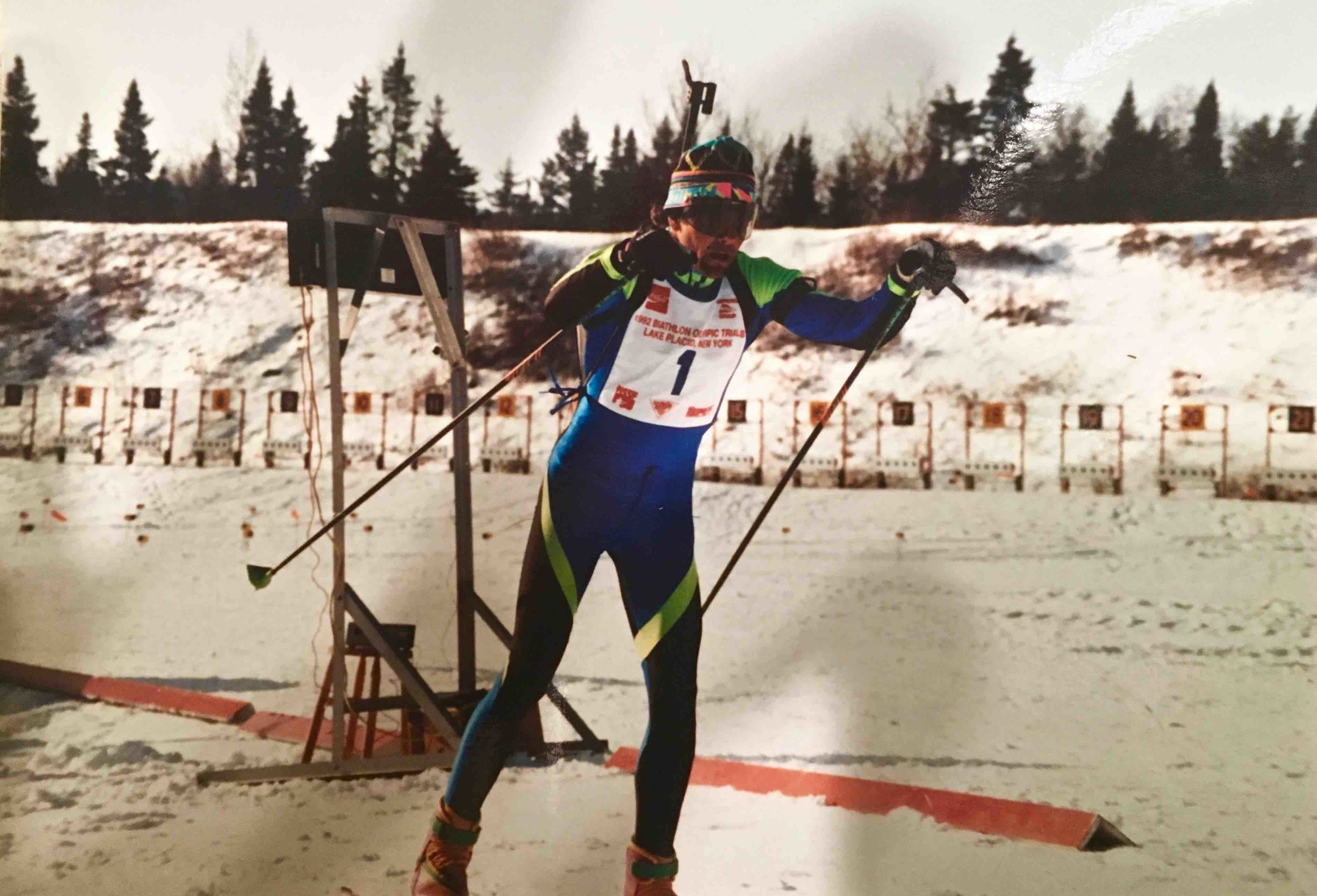 Old days: 10th place, '92 Olympic Trials.