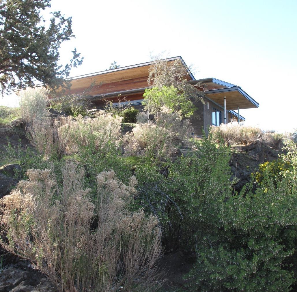 Desert Rain House, Bend Oregon. Photo by Zanna Ahern.