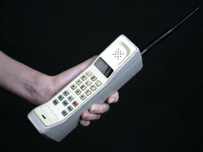 This is what Cell phones looked like in 1991.