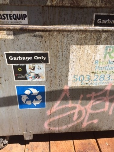 Is this a garbage only or a recycling container?