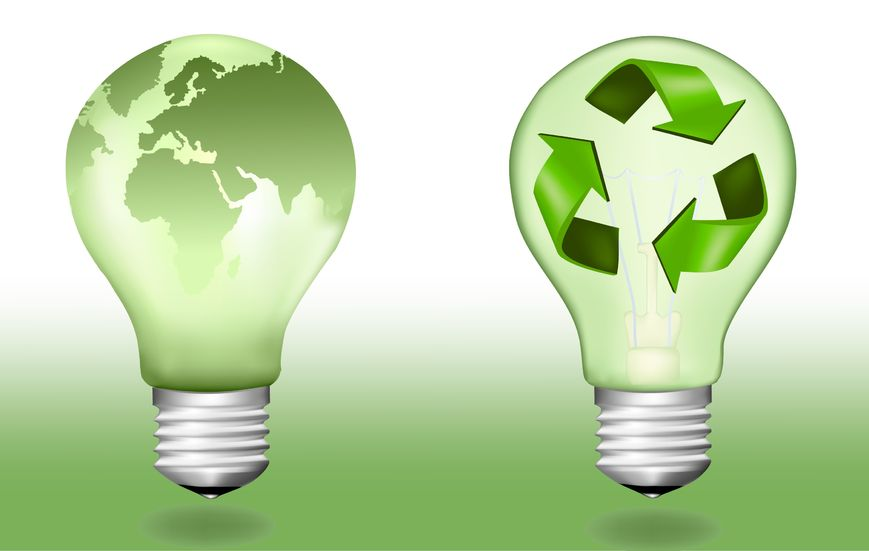 Recycling captures the embodied energy in materials