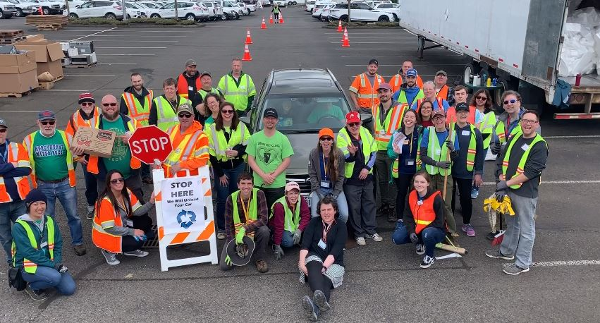 Gresham Earth Day Recycling Event