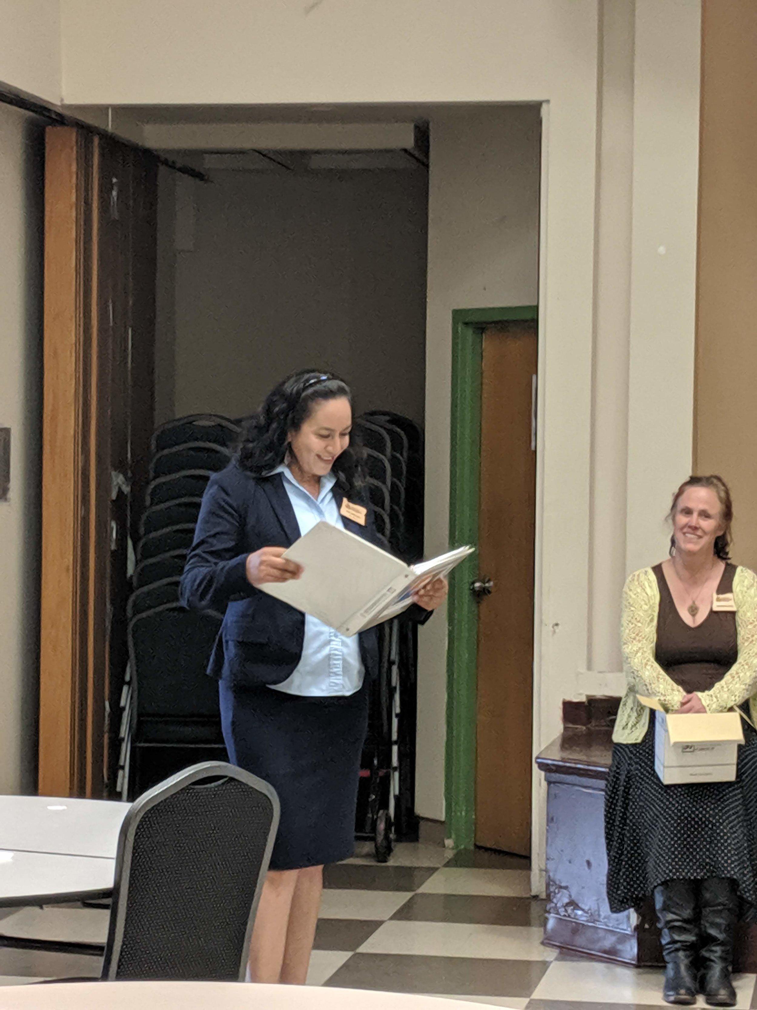 Eva Aguilar del Condado de Washington y la Clase 63 merecen una mención especial como la impulsora de este sueño