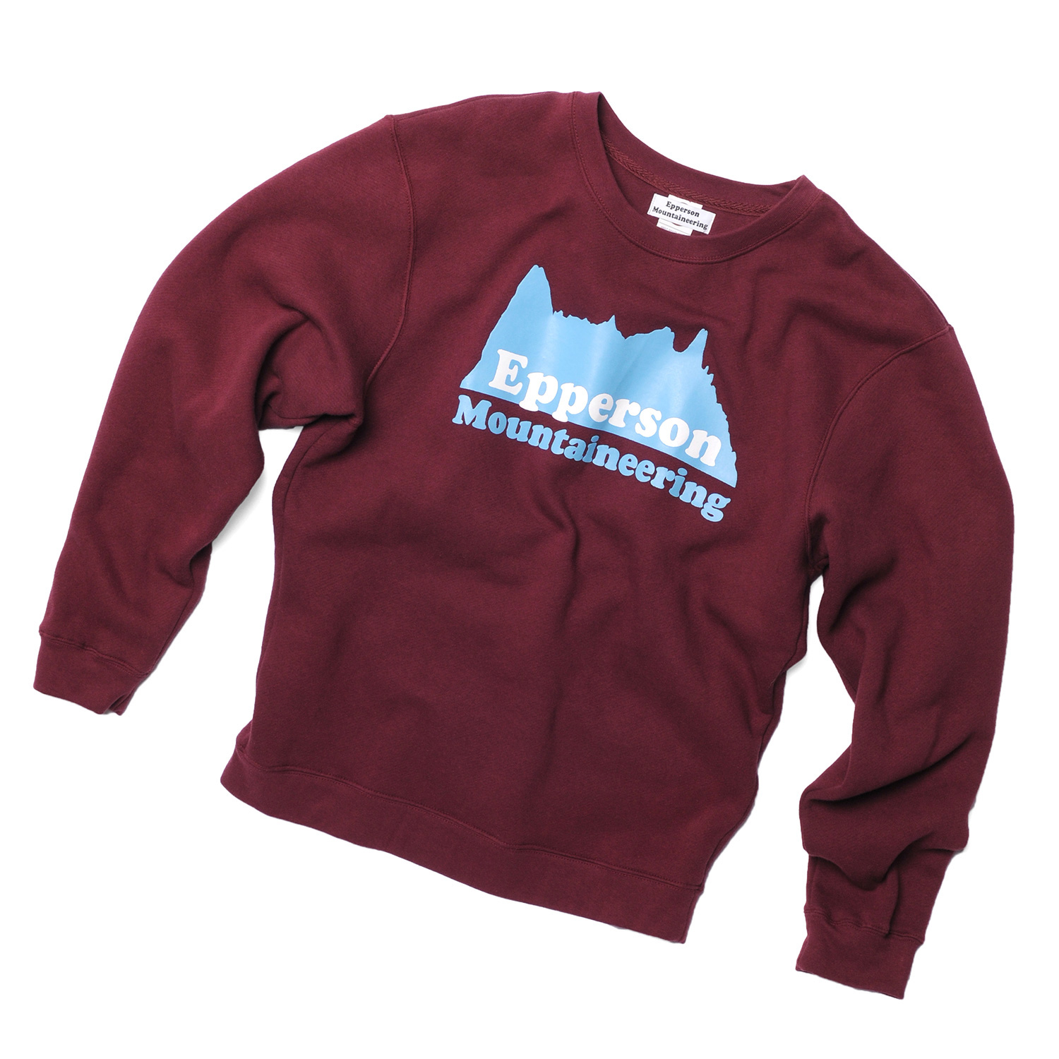 1-Heavyweight-Fleece-Crewneck-Sweater,-Maroon,-Front.jpg