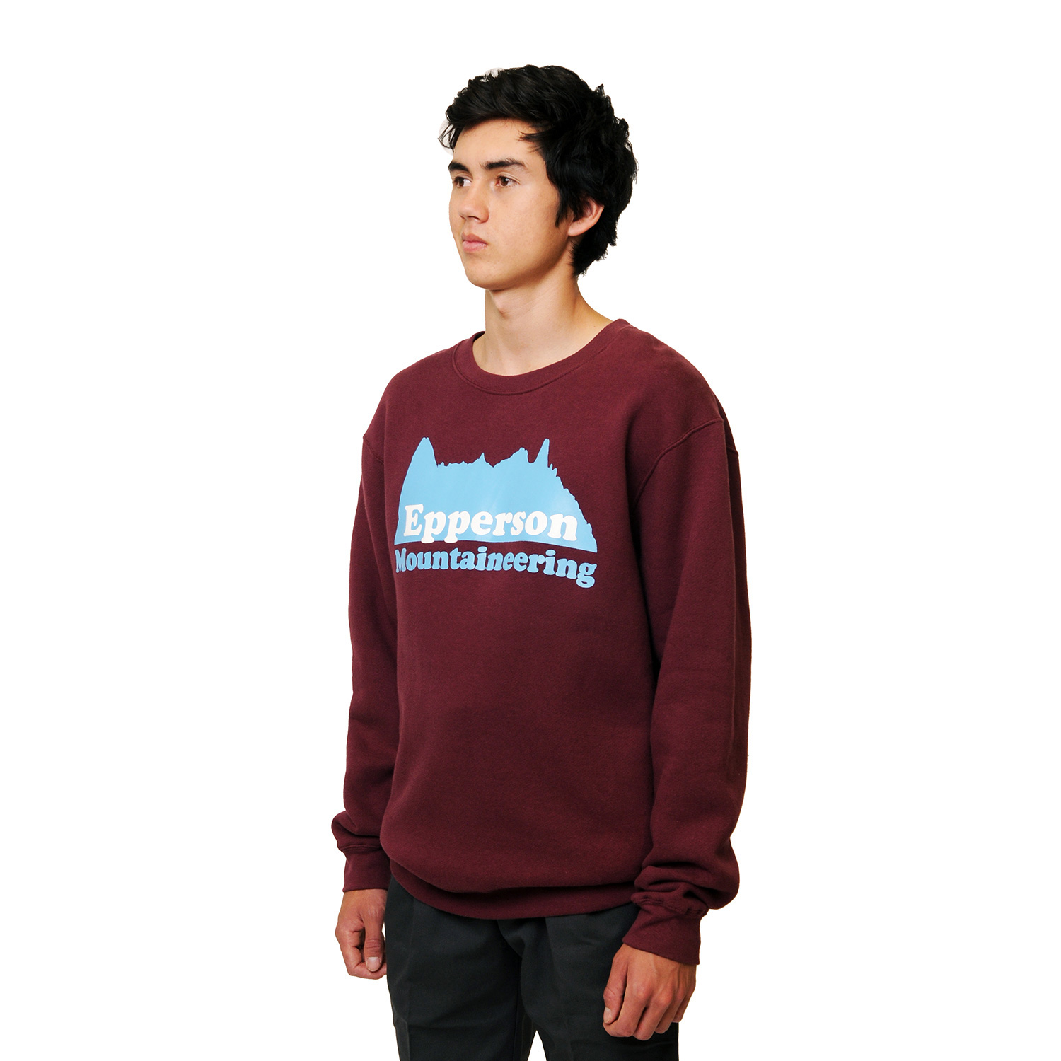 4-Heavyweight-Fleece-Crewneck-Sweater,-Maroon,-Fitting,-(DIV_3665).jpg