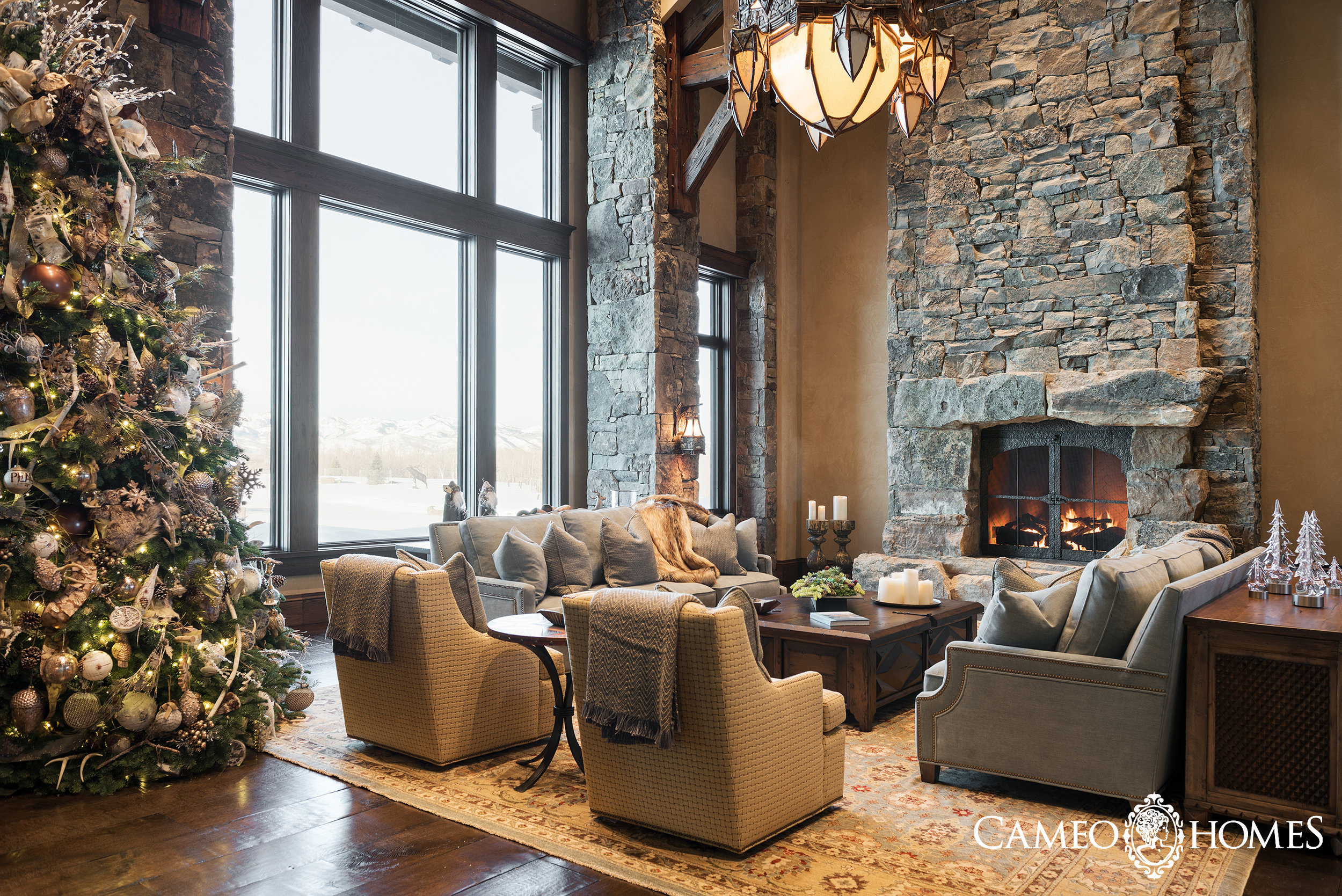 Wolf Creek Ranch Living Room