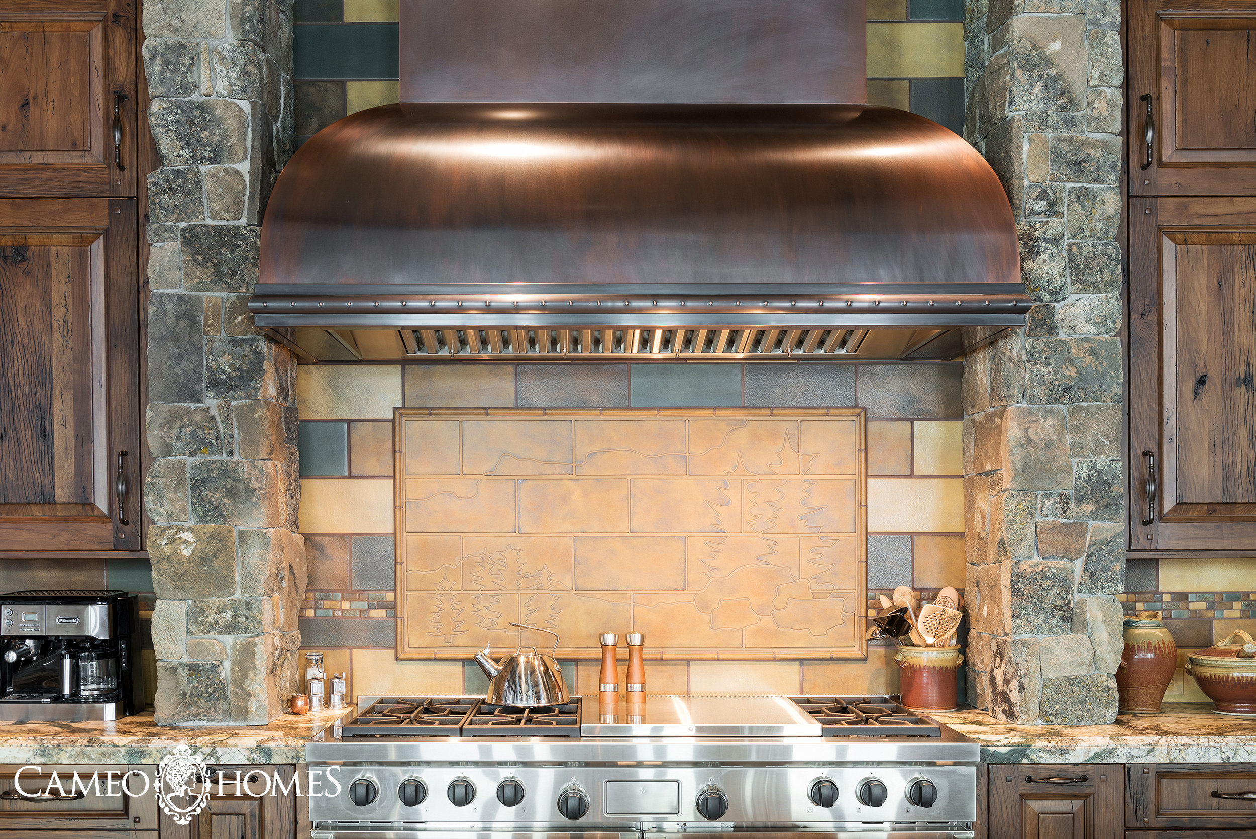 Range Hood of the Kitchen