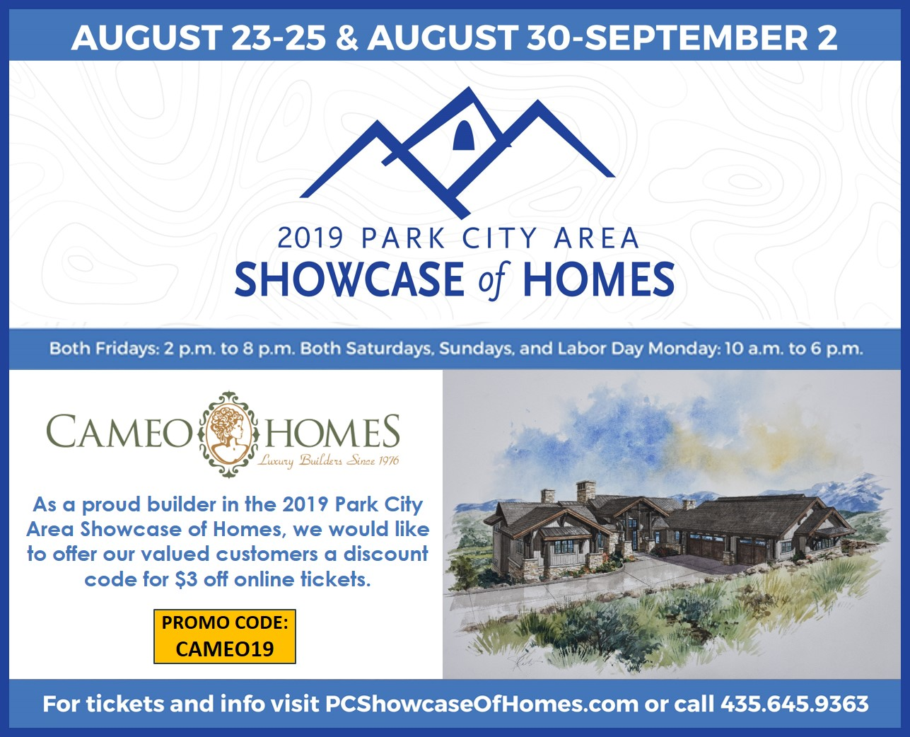 CAMEO HOMES INC.