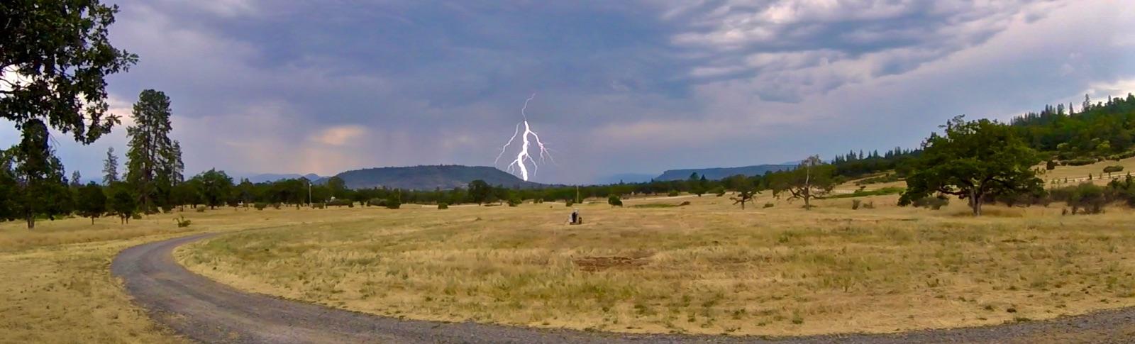 Lightening at Ranch!