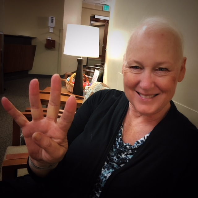 Final Chemo Treatment June 18th. Followed by 4 weeks of Radiation! Glad to have this done!