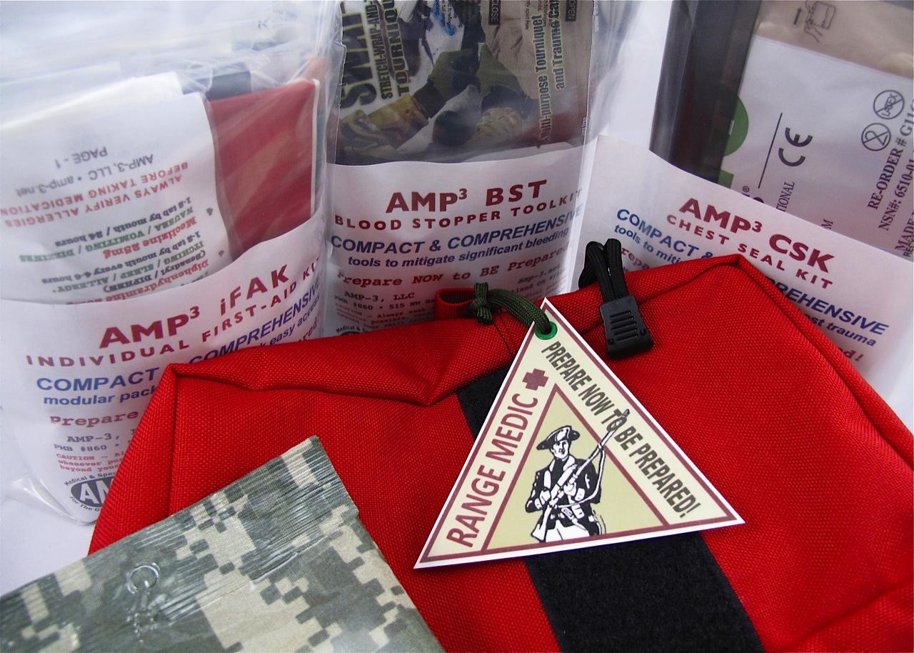 Amp-3 First Aid Kits Amp-3