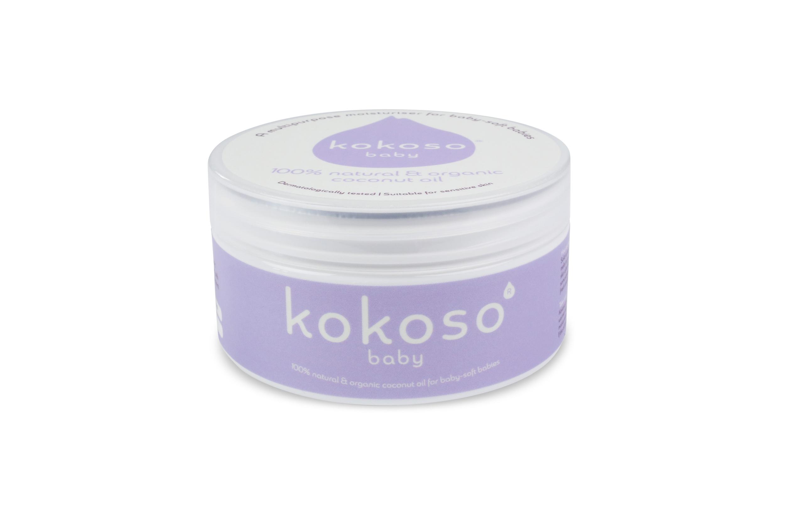 Spot a poster.Win a pot of Kokoso Baby Coconut Oil!