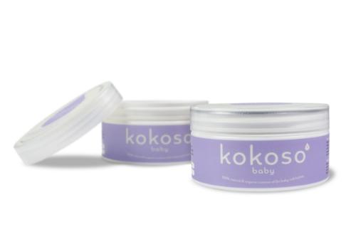 Kokoso coconut oil for baby dry skin