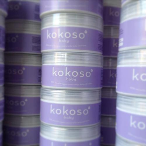 Kokoso coconut oil for baby skin