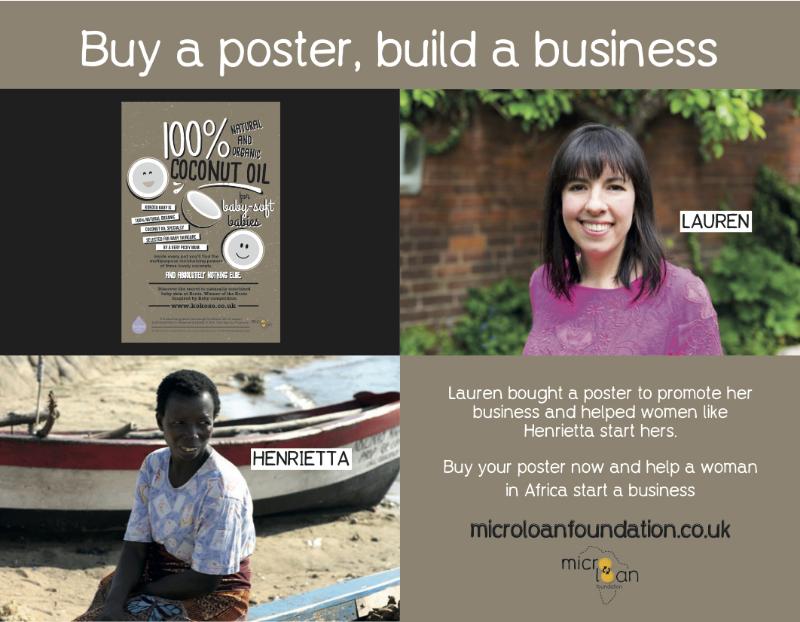 Kokoso Baby Microloan Foundation Poster