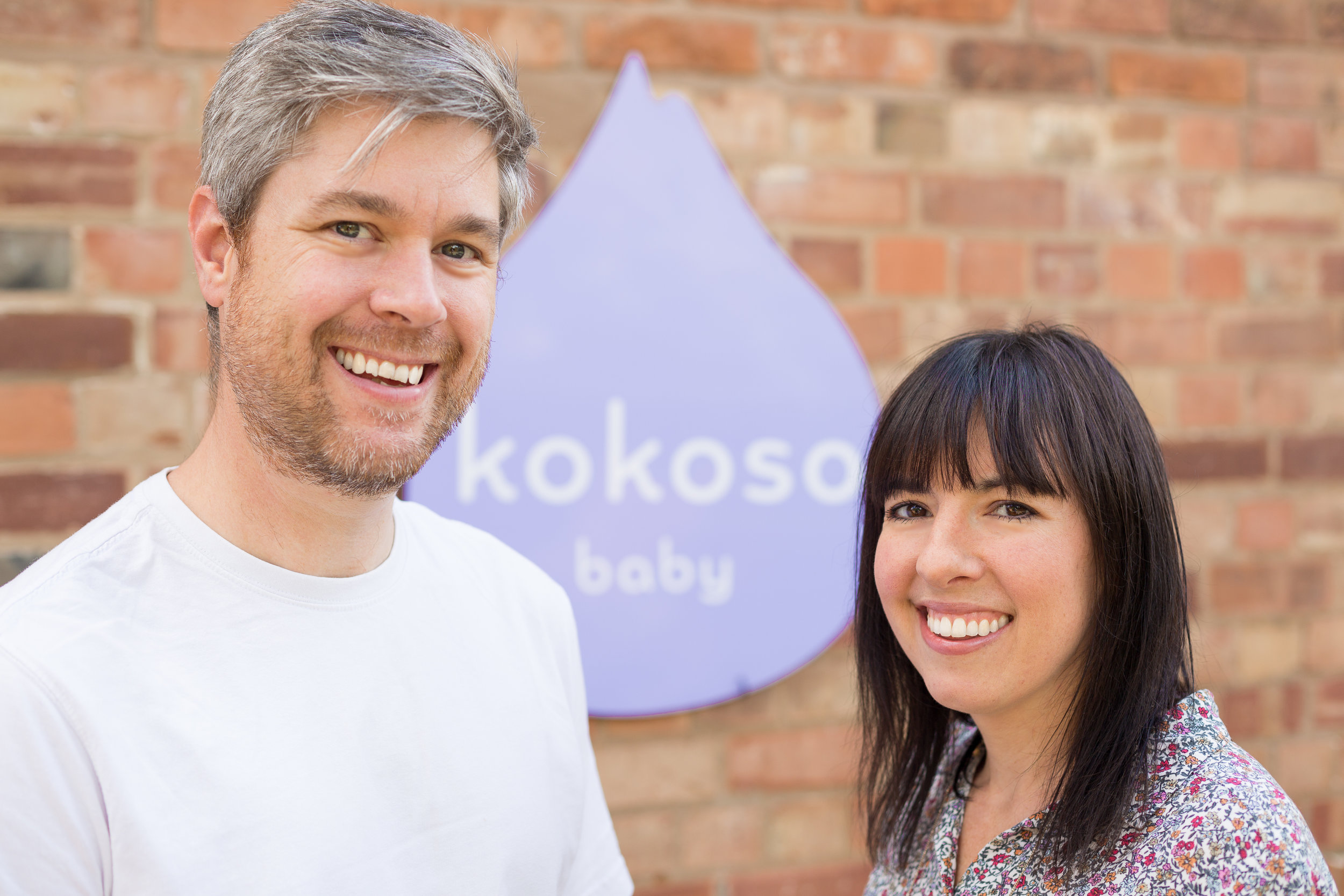 Lauren and Mark Taylor started Kokoso Baby after discovering the wonders of coconut oil on their little one's skin.