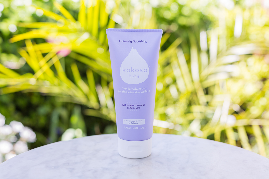 Find the Kokoso Baby Gentle Hair & Body Wash in the showers at Angel Swim London.