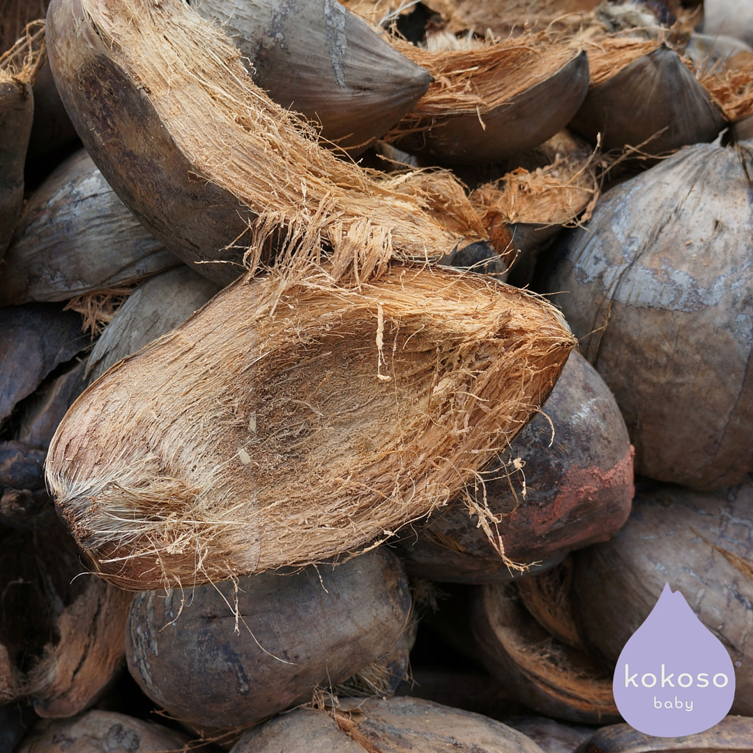 The husks from Kokoso coconuts are used to make mattresses and natural fertiliser for the coconut orchards.