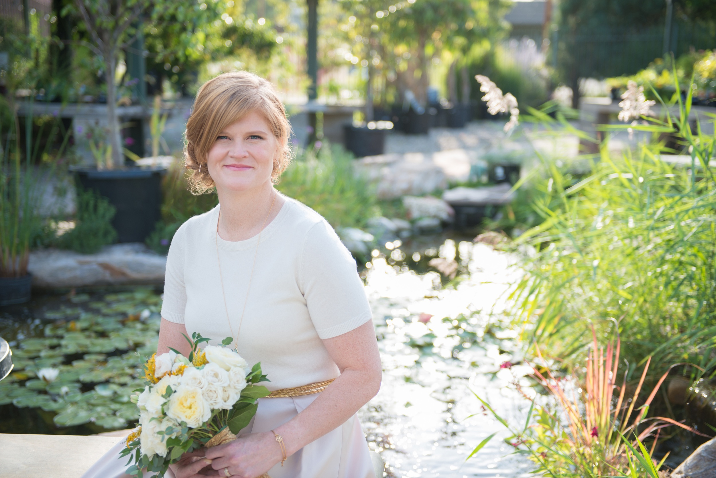 Adrienne and Brad Johnson took amazing Fall wedding photos in our outdoor garden at our Salt Lake location....