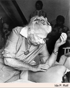 Dr. Ida P. Rolf working
