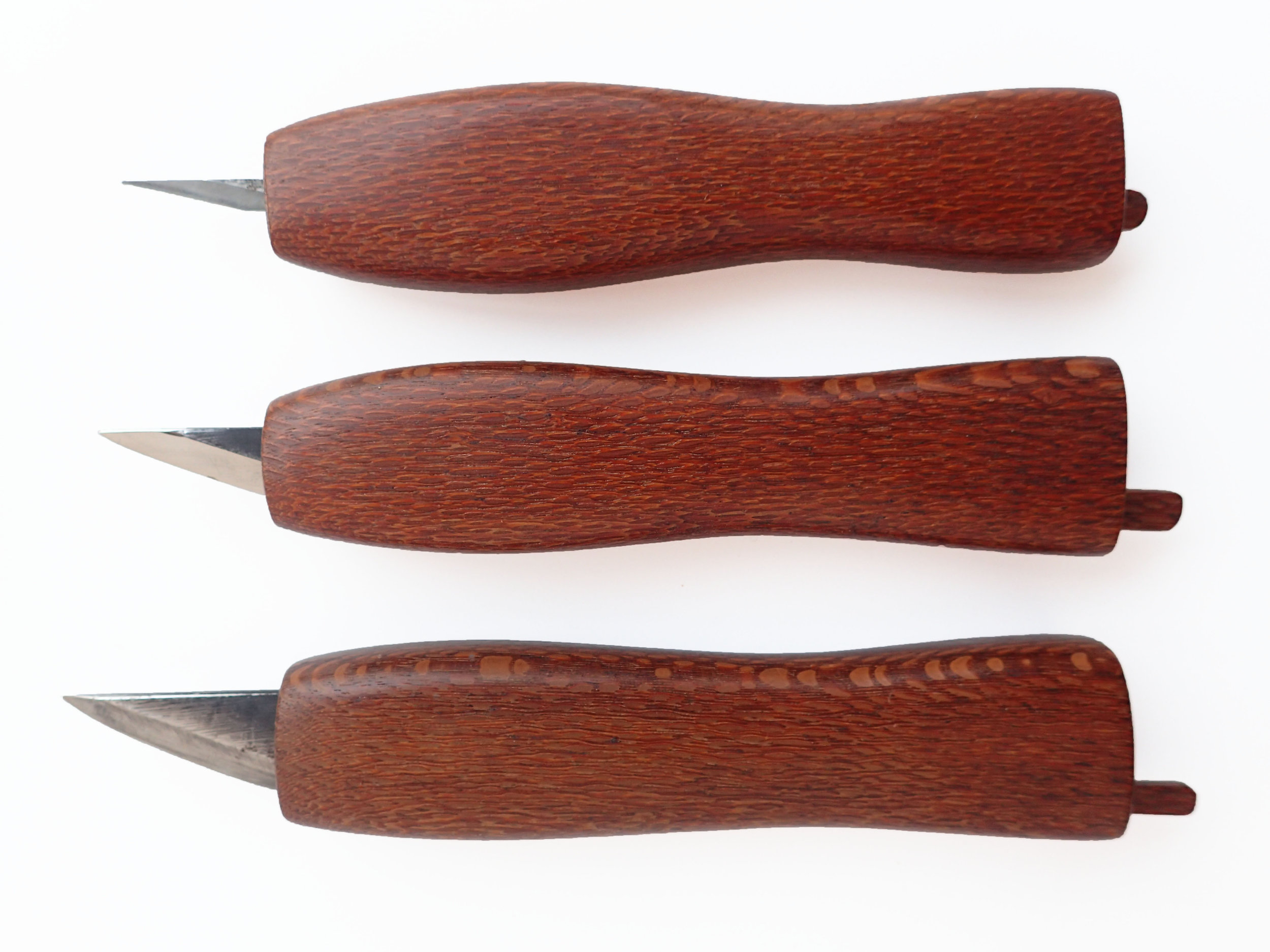 Double Bevel Knives
