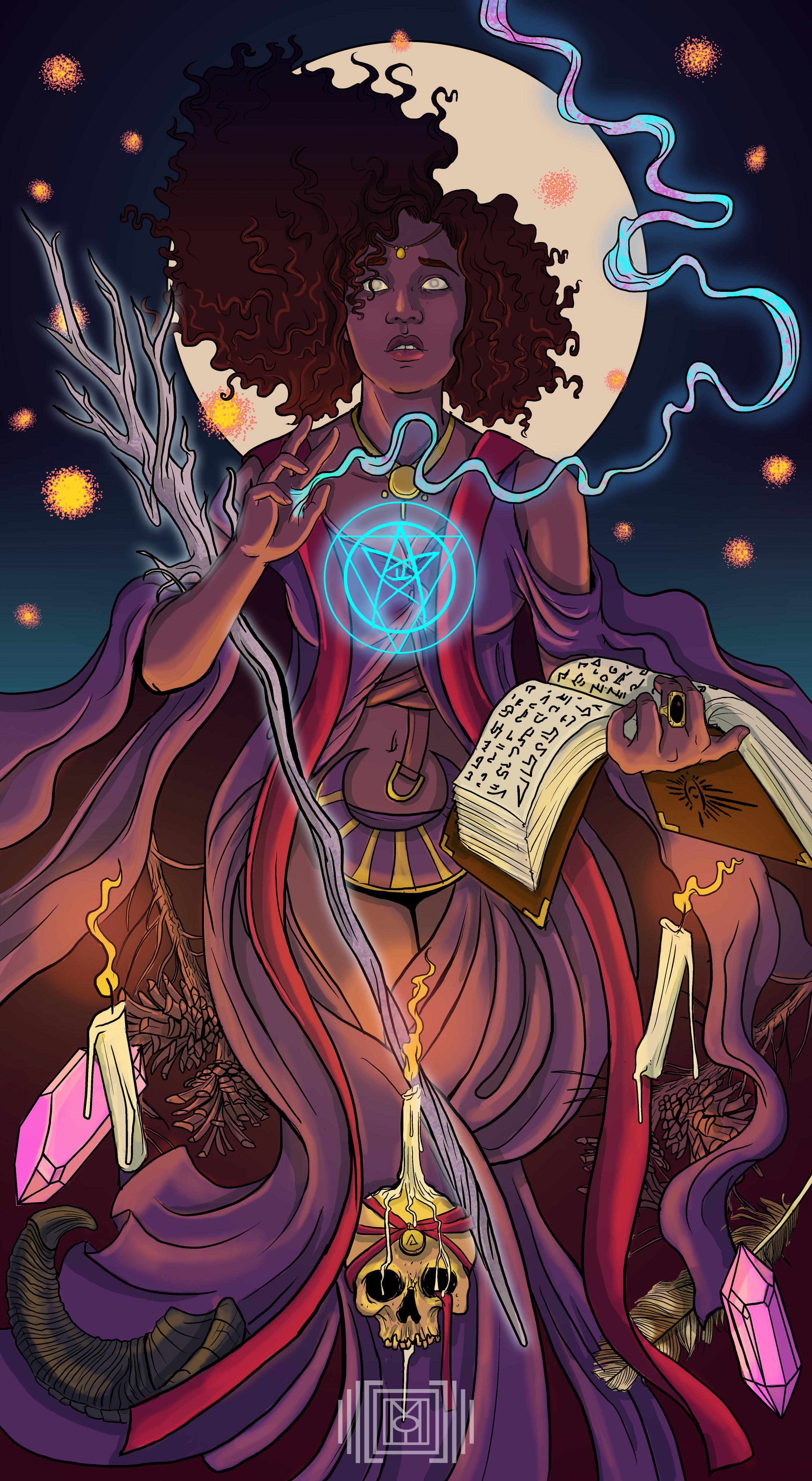 Morgaine le Faye: Sorceress