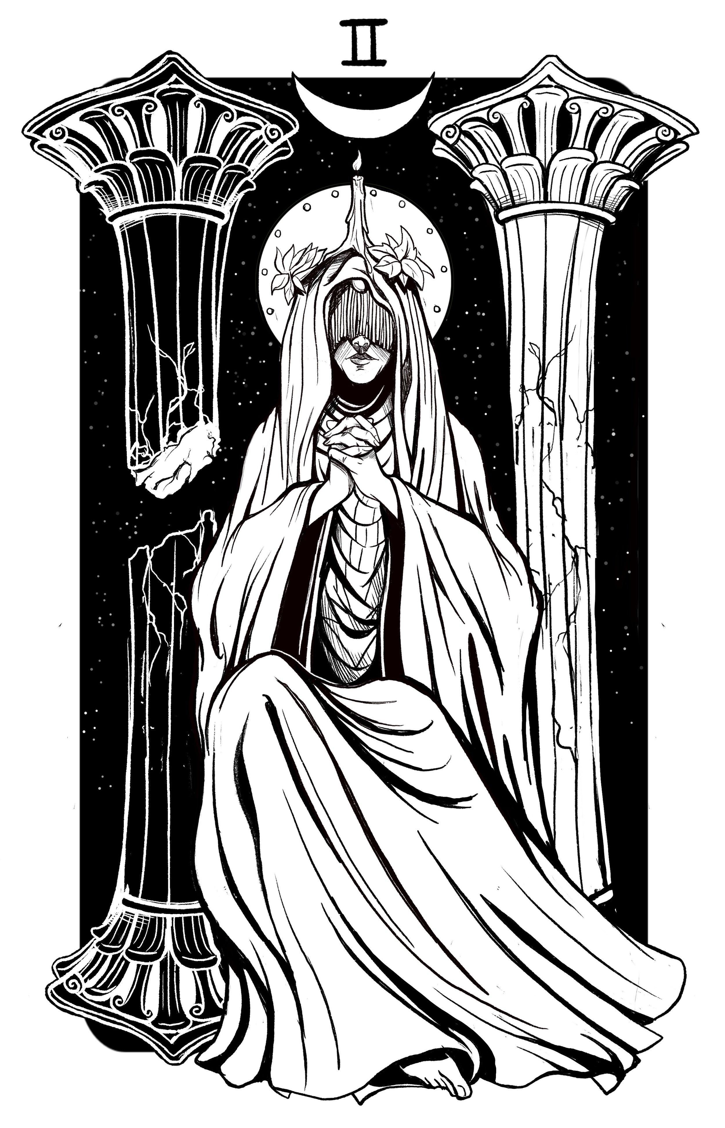 Major Arcana II: The High Priestess